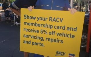 RACV Repair Centre Diggers rest