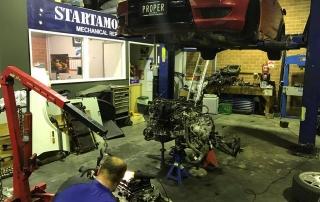 European car mechanic Sunbury
